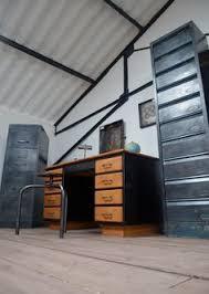 classeur metallique bureau classeur métallique 4 tiroirs meuble bleu vintage meuble bureau