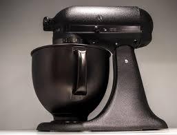 all black kitchenaid mixer kitchenaid has a new all black stand mixer because 2017 demands