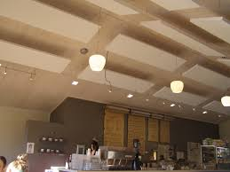 Sound Absorbing Ceiling Panels by Reduce Noise And Add Style In Ceiling Design With Acoustic Plus