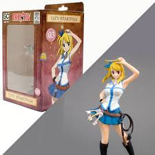 When Does Fairy Tail Resume Lucy Heartfilia Fairy Tail Chibi Standing Characters Figure Tsume