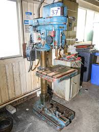 elliott progress model 3e pillar drilling machine on auction now