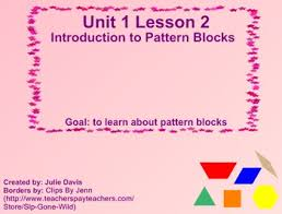 pattern games kindergarten smartboard everyday math kindergarten 1 2 introduction to pattern blocks