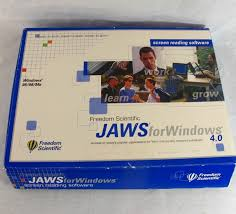 jaws for windows 4 0 screen reading software braille blind