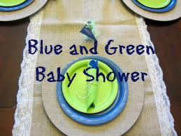 blue and green baby shower amanda g whitaker