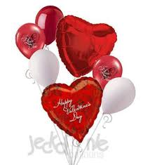 valentines baloons photographic roses happy s day balloon bouquet