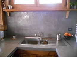 beton ciré pour plan de travail cuisine cuisine beton cire bois simple poele a pellets design noir spicy