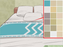 How To Change A Duvet Cover How To Make A Hotel Bed With Pictures Wikihow