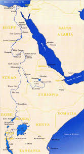 Africa Map Rivers Into Africa The Search For The Source Of The Nile Angus
