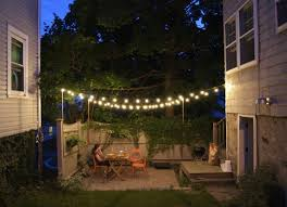 Residential Outdoor Light Poles Outdoor Lighting Interesting Patio Light Pole String Light Posts