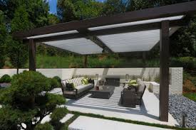 Motorized Patio Covers Outdoor Patio Cover Modernizes Midcentury Home Equinox Roof