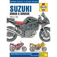 haynes manual suzuki sv650 sv650s k1 k8 1999 2008 ebay
