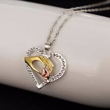 Gifts For Mom 2017 2017 New Mother And Child Pendant Gift For Mom Golden Mom