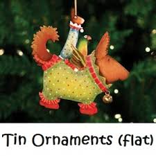 patience brewster krinkles tin ornaments