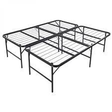 king size foldable platform bed frame onebigoutlet com