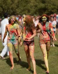 asha holi festival of colors 2012