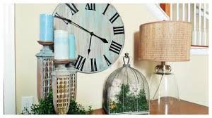 weekend diy rustic oversized wall clock youtube