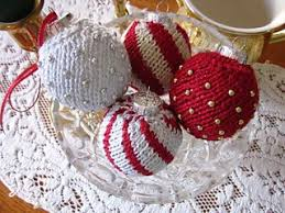 ravelry covered ornaments pattern by debbie trainor