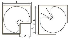 plateau tournant pour meuble de cuisine plateau tournant pour placard cuisine plateau tournant cuisine beau