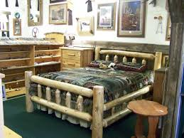 Cedar Log Bedroom Furniture by Northwoods Traditions Log Beds
