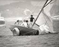 victura the kennedys a sailboat and the sea