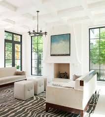 White Living Room Rug by Awesome Corner Living Room Design Showcasing White Sectional Sofa