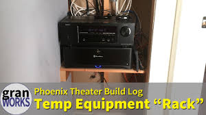 Diy Audio Equipment Rack Creating A Temporary