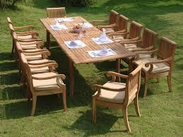 Teak Patio Chairs 13 Luxurious Grade A Teak Dining Set Review Teak Patio