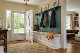 entryway bench and coat rack entry contemporary with baseboards