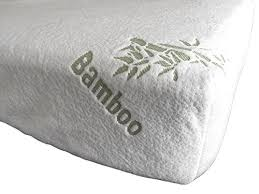 Bamboo Crib Mattress Fitted Crib Sheet Mattress Pad By Sproutwise