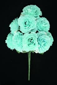 teal flowers clearance items silk flowers
