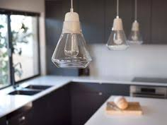 Beacon Lighting Pendant Lights The Beacon Lighting Zinc 1 Light Medium Pendant In Matte Black