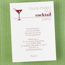 template inexpensive cocktail birthday invitations free with red