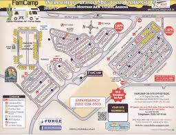 Tucson Zip Code Map by Davis Monthan Afb Fss Famcamp Rv Park