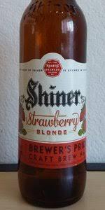shiner light blonde carbs shiner strawberry blonde spoetzl brewery shiner beeradvocate