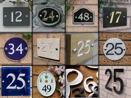 house numbers created at solid brass house numbers 12 in