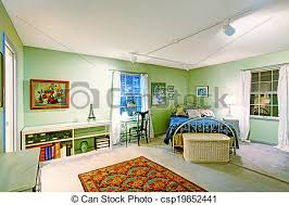 chambre en osier antiquité osier poitrine lit chambre à coucher photo de