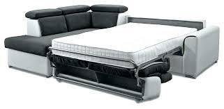 canapé lit matelas épais canape lit pour couchage quotidien canape lit pour couchage
