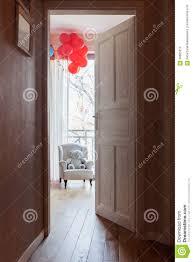 open door to child u0027s room stock photo image 58085312