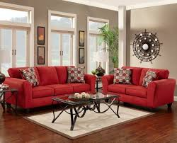 livingroom couch red sofa and loveseat living room windigoturbines red leather sofa