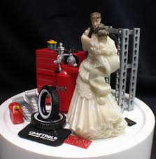 mechanic wedding cake topper wedding cake topper car image car auto mechanic wedding cake