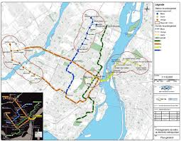 Map Of Montreal Amt Planned Métro Extension Map Taylornoakes Com