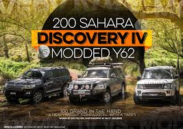 nissan sahara 2016 200 sahara vs discovery iv vs modded y62 the heavyweight