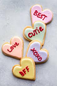 valentine u0027s day heart sugar cookies sallys baking addiction