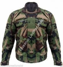 waterproof motorcycle jacket green camouflage camo ce armoured waterproof motorcycle motorbike