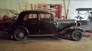 1950 mercedes for sale my mercedes 170 va 1950 project the restoration of an