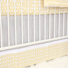 ryan u0027s yellow u0026 gray crib bedding caden lane