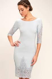 grey bodycon dress stunning blue grey dress lace dress bodycon dress 48 00