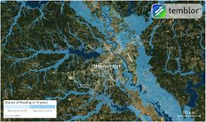 Map Of Shreveport Louisiana by Tropical Storm Cindy Threatens To Flood Shreveport And Mobile