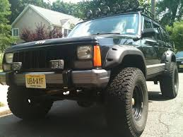 lifted jeep cherokee 1995 fs nj jeep cherokee 4x4 lifted and 33 inch tires