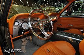 2001 Mustang Custom Interior 67 Mustang Fastback Gt500 Grey With Camel Interior Custom Painted